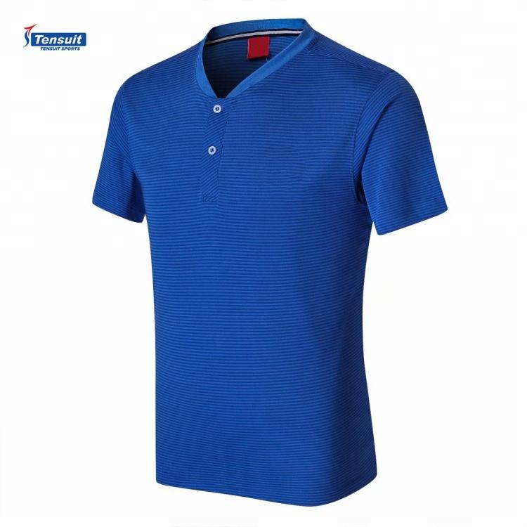 Desain Terbaru POLO Sepak Bola Jersey Custom Sepak Bola Polo Shirt untuk Pria