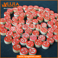 Wooden bingo chips classic games maker manufacture expert in china