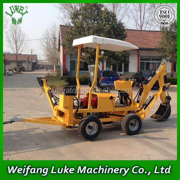 ATV towable backhoe with diesel engine with good price