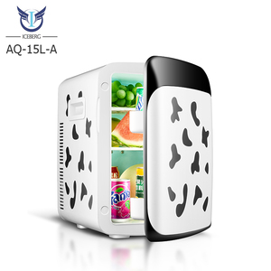 AQ-15L-A Fashion Promotion New Style 12 V Refrigerator Home Fridge Cooler and Warmer Hotel Mini Fridge