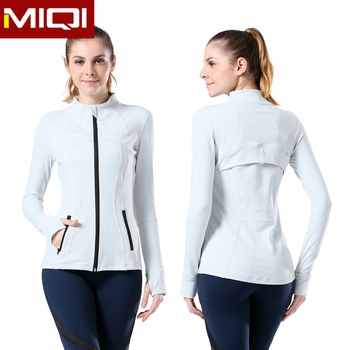 (Factory) cheap wholesale women and ladies fitness yoga wear sports jackets 4ad06c85883a