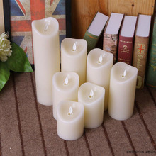 Battery Operated Flameless Ivory LED Candle