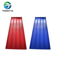 prepainted zinc aluminium coated steel roofing sheet