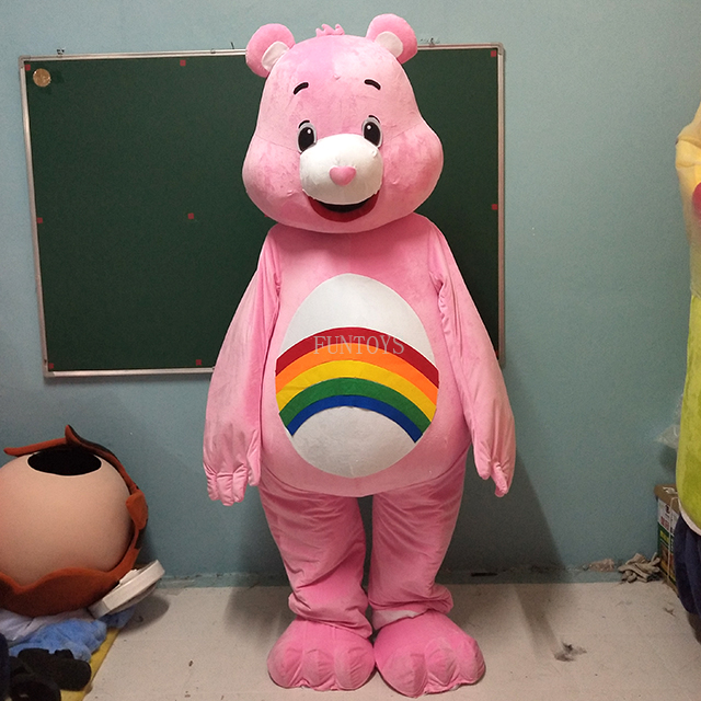 Mature hairy adult care bear for
