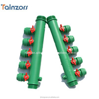 PPR Plastic water distributor is more efficient than brass manifold