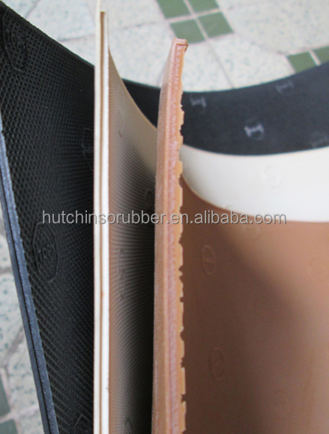 rubber soling sheet for shoes
