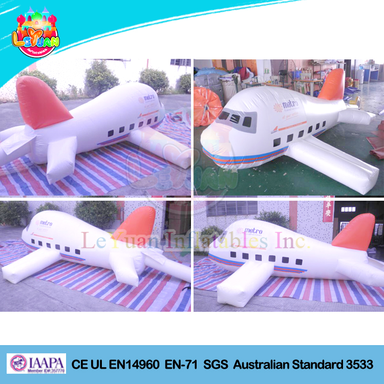 Large inflatable airplane helium balloon/ airplane type inflatable helium ballon