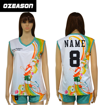 Custom Design Your Own Sublimation Women Volleyball Jersey - Buy ... dd324496c7