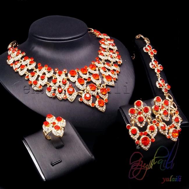 de2e03392024 Coral piedra principal y compromiso ocasión joyería 2013 joyería de lujo  ajuste barata bisutería conjuntos