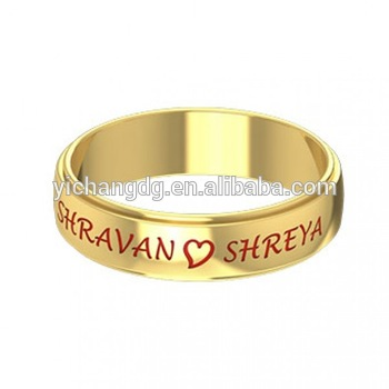 jewelry rings personalized gallery in custommade message name ring gold or com engraved wedding