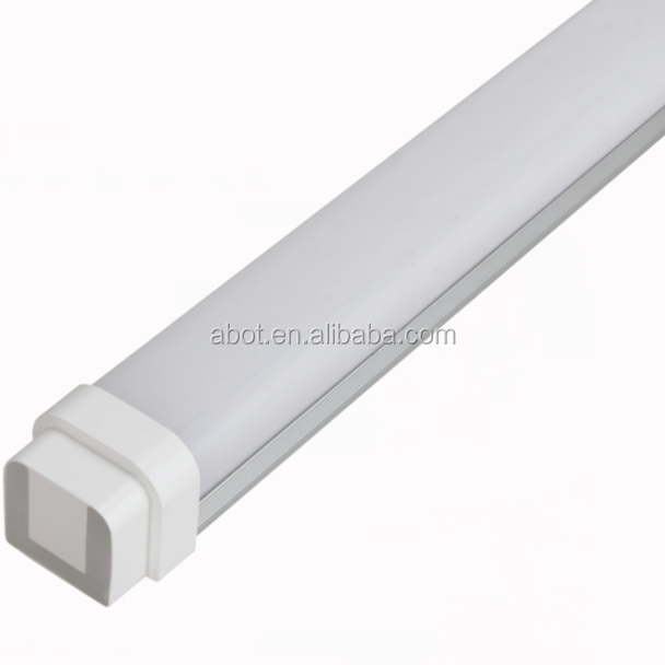 CE ROHS Linear Vapor Tight Led Light 18W, Led Batten Tubes For Parking Lot