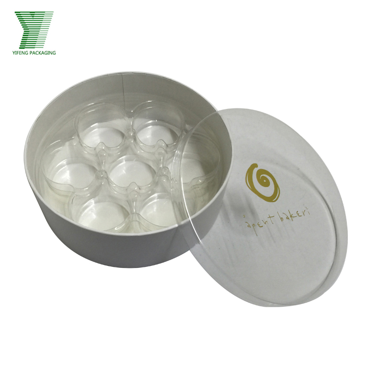 Hot 2018 Clear Plastic Hat Packaging Chocolates Paper Gift Boxes
