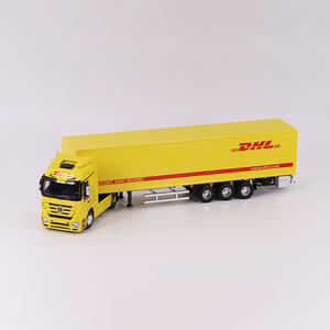 OEM 1:50 toy truck model dhl truck model in 15 years supplier