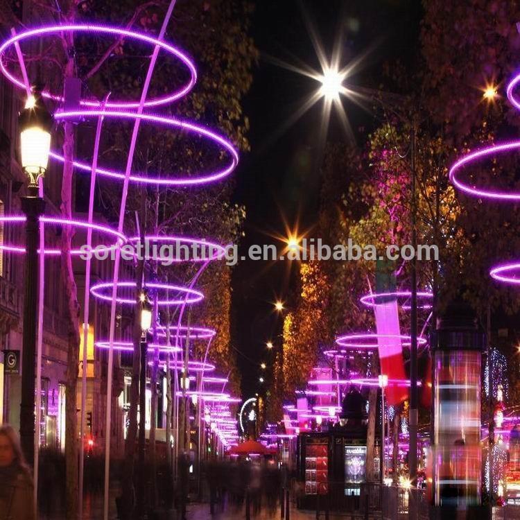 Colgante exterior decorativa led curtan light led luces - Luces de exterior led ...