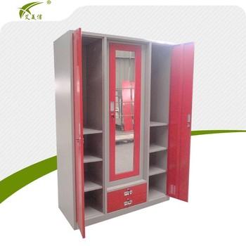 Godrej almirah design 3 door metal wardrobe antique storage cabinet buy antique storage - Modern almirah designs ...