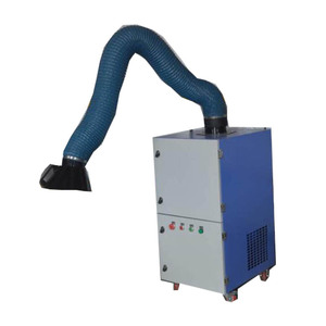 Industrial Mobile Dust Extractor System Cyclone Dust Separator