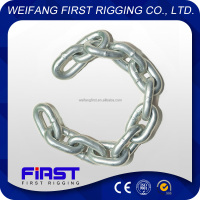 BS welded iron short link chain