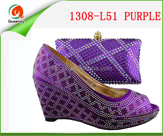 and purple women color 1308 shoes match bags to L51 italian qWAtwSg7