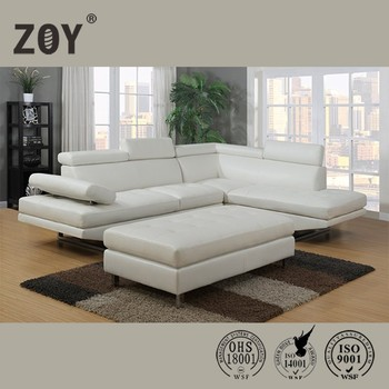 Modern Leather Living Room Corner Sofa Home Furniture,l shape sofa cover For Living Room Zoy-97820
