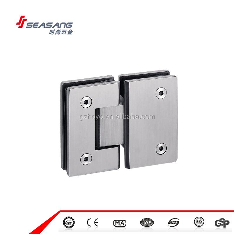 Enmarcado aseo 180 grados puerta de cristal bisagra de for Puertas 180 grados