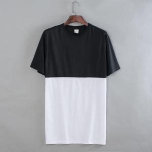 Blank 2 Colors Short Sleeves T-shirt Men's Polyester Tee Shirt Custom Design Sublimation Print Fashion Hip Hop