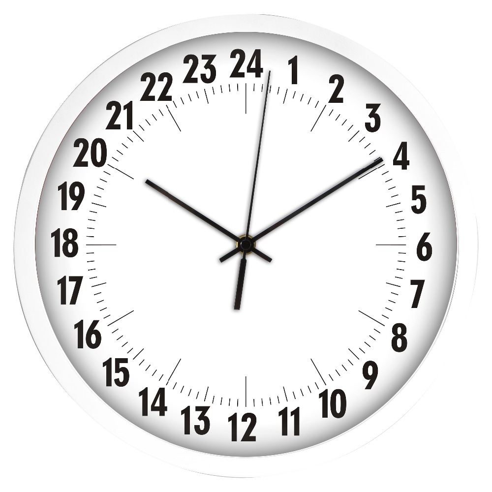 Non Ticking Silent Wall Clock 24 Hours Wall Watch Hot Sell Items In