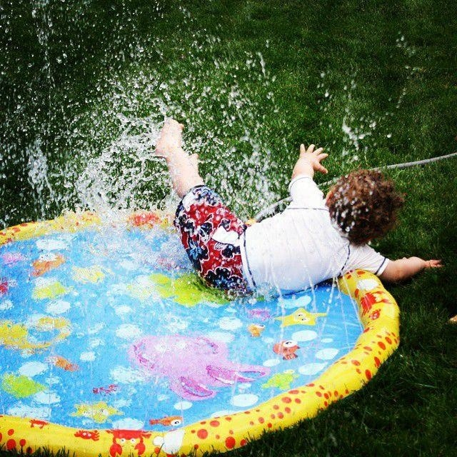 New Design Sprinkle Splash Baby Water Play Mat For Best Kids Sprinkler