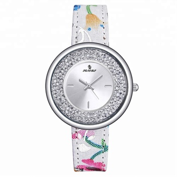 Senors SN073 Hot sell ladies watch branded christmas gifts  ladies fancy leather wrist watches