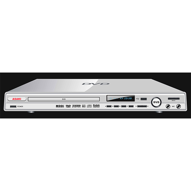 Home AC 5.1ch 2ch China supplier TV USB SD KARAOKE CD-G XVID AC-3 MP4 reproductor DVD player