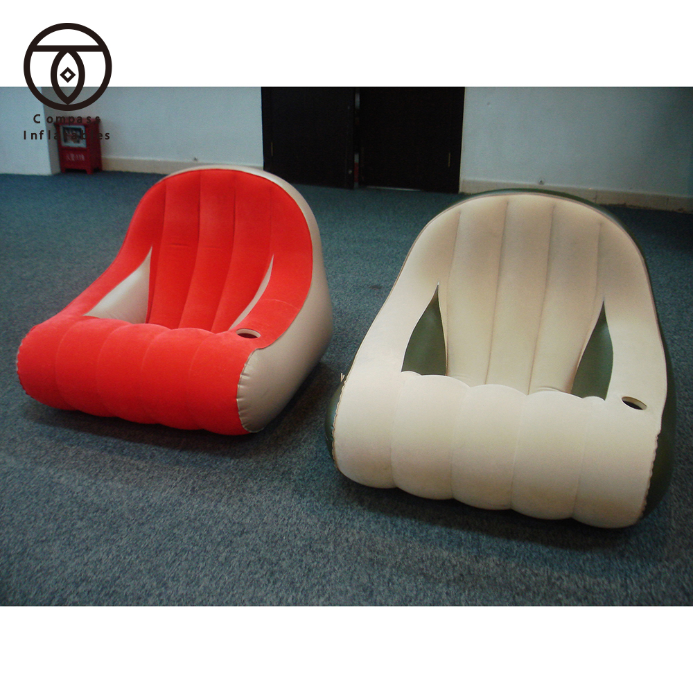 Oem Cheap Inflatable Chair Custom Gift Air Sofa For Outdoor