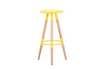 China Supplier Cheap Bar Stool Chair With Wood Leg