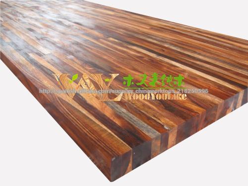 Madera maciza acacia tableros de mesa mesas de madera - Encimera madera maciza ...