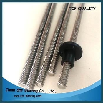 10mm Acme Lead Screw Tr10*2 Stainless Steel Trapezoidal Screw For 3d  Printer - Buy Price For Stainless Steel Screw,Trapezoidal Screw,Acme Lead  Screw