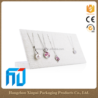 Wholesale High Quality Cheap Luxury Linen Jewelry Pendant Display Card