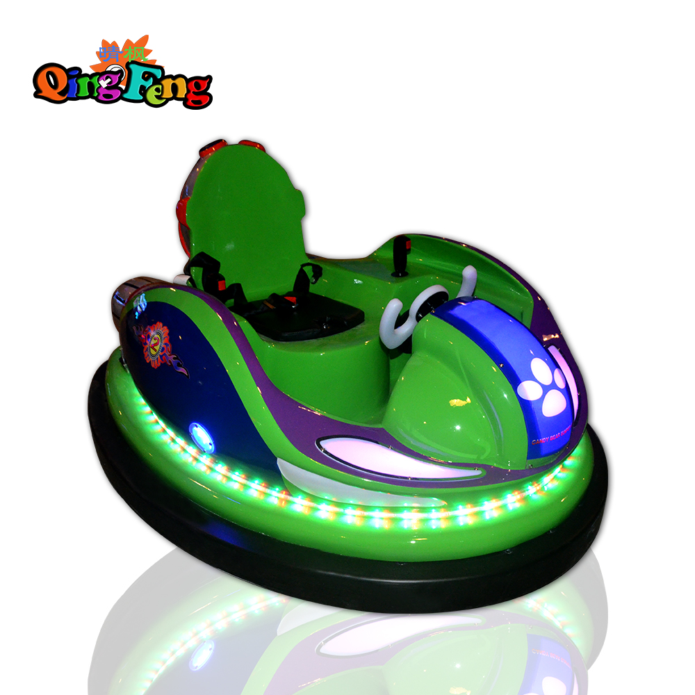 Qingfeng outdoor and indoor electric bumper car battery operated bumper cars