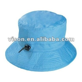 ae5ce79a8da Folding Rain Hat Waterproof Rain Hat Bucket Hat With Adjustable String