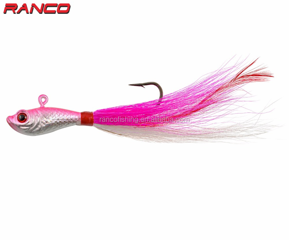 Ranco <strong>Fishing</strong> Lures Terminal Tackle Bucktails Jig RBJ-0006