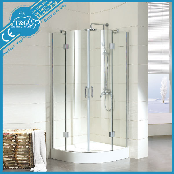Wholesale simple design shower room , 6mm glass shower cabin