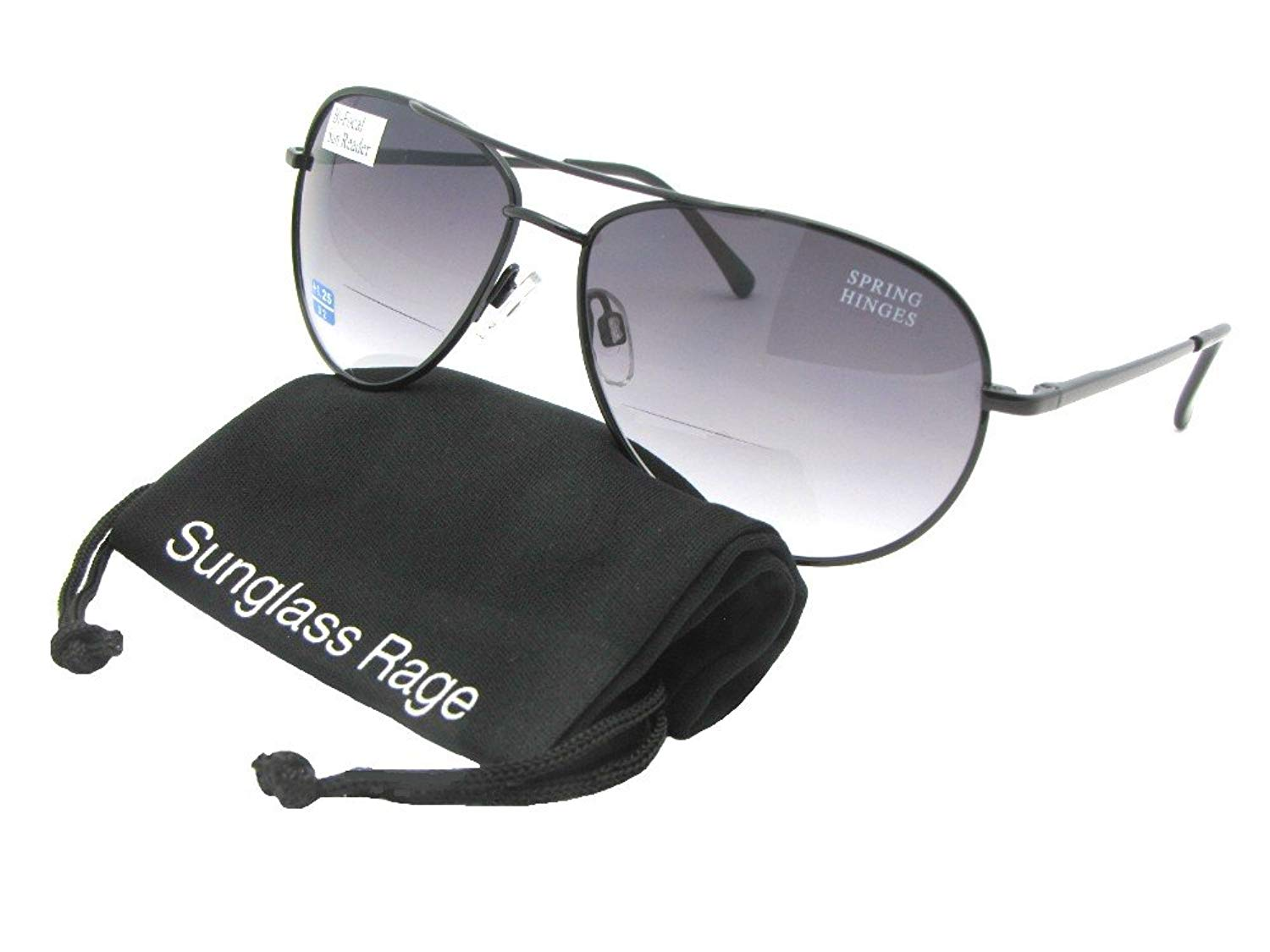 1ea4f6cc0ce Get Quotations · Medium Size Aviator Bifocal Sunglasses Style B1