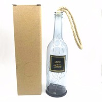 2018 MOST POPULAR DECORATIVE LED DARK GREY BOTTLE FOR HOME DECOR, PARTY AND GIFTS