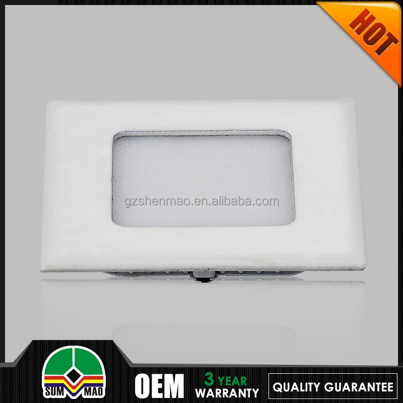 newest design hot selling in indian square led pannel light dimmable flat 300*300mm led ceiling panel light