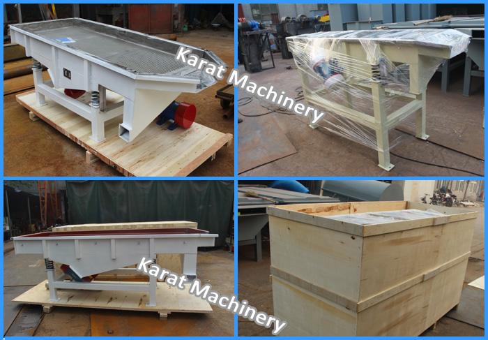 KRT Vibraing Screen,Separator Machine Sand Linear Vibrating Screen