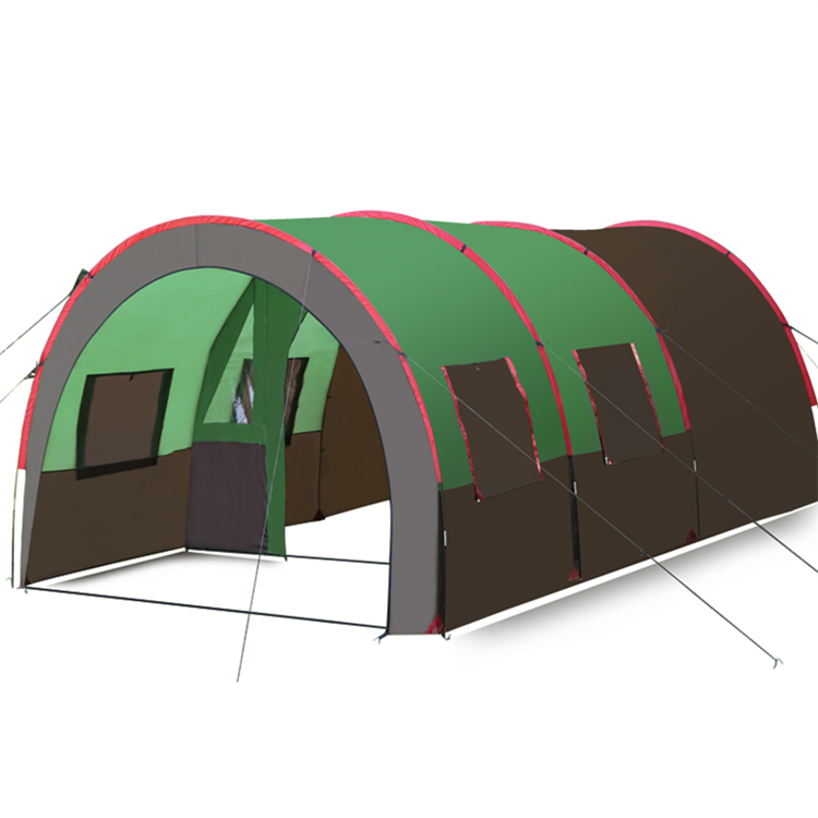 480*310*210cm 8-10 Person Super Large Space Glamping Tent One room Erting Rainproof camping Big Tunnel Tent
