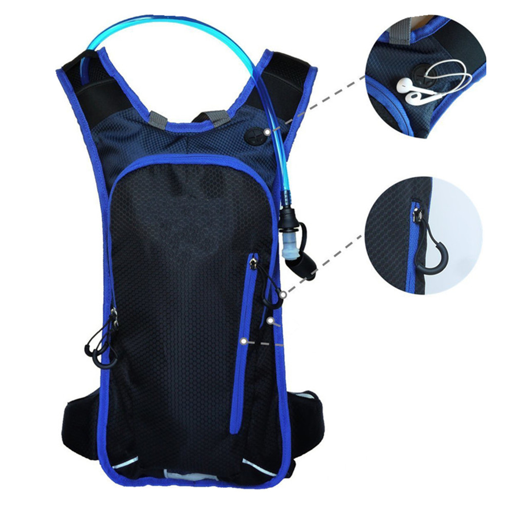 Bicycle hydration backpack 2l hydration pack bag