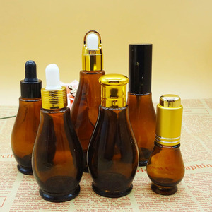 wholesale 15ml 30ml 50ml 100ml rectangle glass dropper bottle for perfume and essential oil