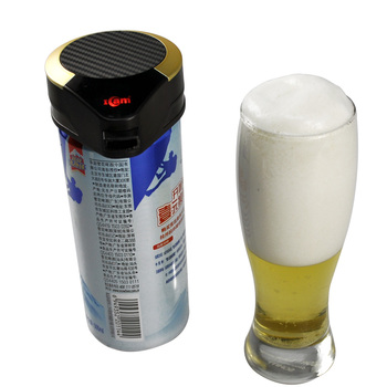 Alkaline battery mini palm size canned beer foam dispenser , marketing gift items promotion,Wower draft beer tower