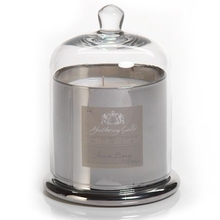 Customized 100% Natural Soy Wax Candle in Silver Glass Jar