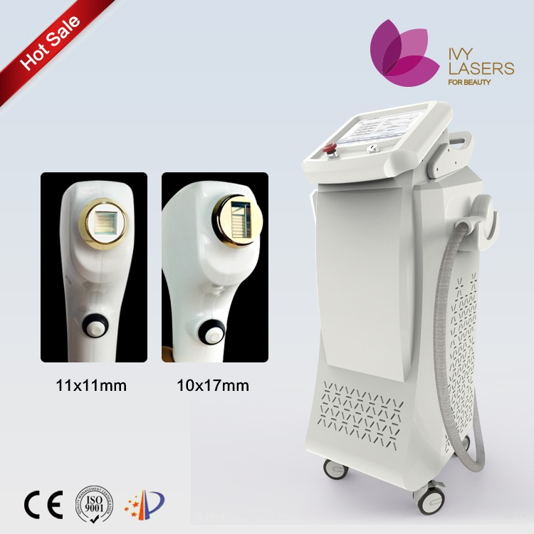 hair system wholesale for men women diode laser super hair removal with Sapphire crystal handle