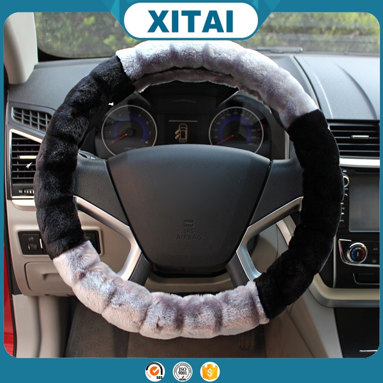 Hot sale Xitai car accessories custom soft clean silicone steering wheel cover art.-no.35