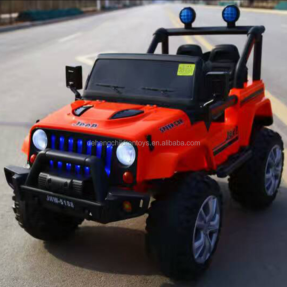 2017 jeep electric car for kids fashion design from toy factory in China